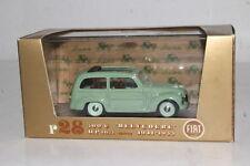 BRUMM DIECAST #R28 FIAT 500C BELVEDERE, 1951-1955, 1:43, EXCELLENT, BOXED