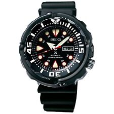 Diver Brushed Wristwatches with 12-Hour Dial