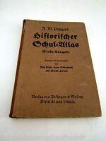Historischer Schul Atlas-große Ausgabe von 1936 Verlag Belhagen&Klasing