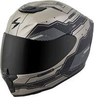 Scorpion Exo-R420 Full-Face Techno Helmet Titanium Black