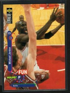 Michael Jordan 1995-96 Collector's Choice Fun Facts #169 NBA Chicago Bulls
