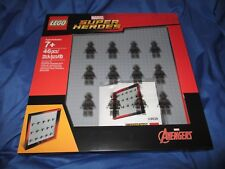 AVENGERS LEGO Minifigure Display Case/Set/Frame #853611 (Hulk/Thor) ~NEW SEALED!