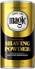 SoftSheen Carson Magic Fragrant Shaving Powder  Help Stop Razor Bumps 127g