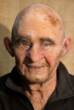 """Silicone Mask Old Man """"Robert Bold"""" Halloween, NEW Hand Made, High Quality,"""