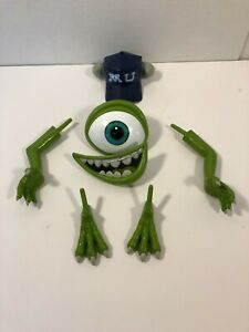 Disney Pixar Monsters Inc University Mike Wazowski Pumpkin Push-Ins