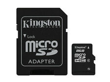 Kingston 8gb microSDHC Class 4 Memory Card
