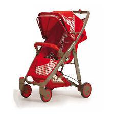 Baby pushchair buggy stroller Crystal 233 rosso geranio Brevi