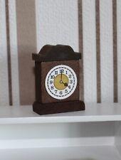 7114 - Nostalgie-Uhr von Bodo Hennig für Puppenhaus Puppenstube, 1:12, 1:10