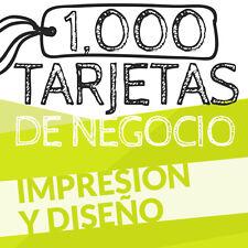 1,000 TARJETAS DE PRESENTACION - BUSINESS CARD
