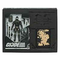 "HASBRO G.I. JOE CLASSIFIED SERIES SNAKE EYES DELUXE 6"" ACTION FIGURE EXCLUSIVE"
