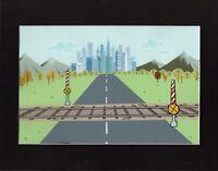 The Powerpuff Girls Townsville Production Background Cartoon Network 60