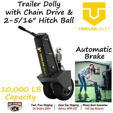 """TVXL25 TRAILER VALET 1,000 lbs TW Trailer Dolly with Chain Drive & 2-5/16"""" Ball"""