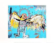 Jean Michel Basquiat Untitled Fallen Angel 1981 Poster Kunstdruck Bild 36x28cm