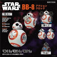 Star Wars BB-8 Alarm Clock Voice Actions Rhythm Watch From Japan New