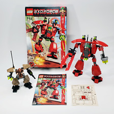 LEGO Exo-Force Lot - 7701 Grand Titan & 7711 Sentry - 100% Complete New Stickers