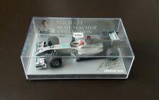Minichamps 1:43 Michael Schumacher Mercedes GP Showcase 2010