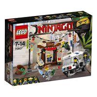 LEGO 70607 NINJAGO City Chase Toy Construction Builidng Kit Set 5 Minifigures