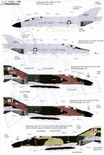 Xtradecal 1/48 USAFE McDonnell F-4D & RF-4C Phantoms in England Teil 1