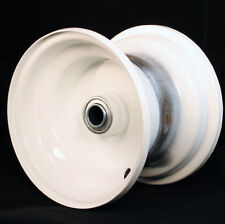 1 New Lawn & Garden Tractor 6 x 4-1/2 White Rim Wheel Rim fits 15x6.00-6 Tire