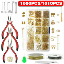 Craft DIY Jewelry Making Supplies Jewelry Findings Starter Kit Repair Tools .