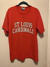 Size Medium NIKE Team Red ST. LOUIS CARDINALS  Graphic T-Shirt