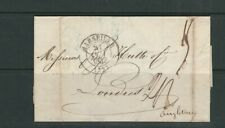 FRANCE 1842 stampless letter from MARSEILLE to LONDRES (LONDON) ANGLETERRE