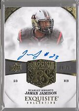 "2013 Upper Deck Exquisite Jawan Jamison On Card Auto ""#23"" Rc # /70"