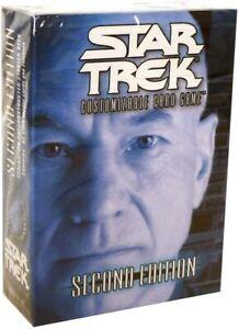 Star Trek CCG 2nd Edition Picard Federation Starter Deck Brand New Sealed