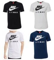 Nike T Shirt For Men Air Max Sports Gym Cotton T-Shirt Size S M L XL