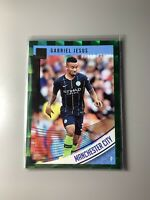 2018-19 Panini Donruss Gabriel Jesus Manchester City #38 Green Press Proof