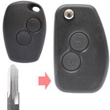 Klapp Schlüssel Umbau Gehäuse Renault Clio Kangoo Laguna Twingo 2 Tasten VAC102