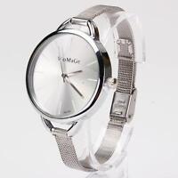 New Fashion Classic Women Lady Quartz Stainless Analog Wrist Watch Bracelet S