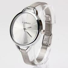 New Fashion Classic Women Lady Quartz Stainless Analog Wrist Watch Bracelet S