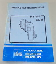 Officina Manuale VOLVO BM ingranaggi HT 50/50 B STAND 11/1989