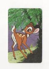 Swap Playing Cards 1 x 1960's Rare 3/4 Japanese Nintendo Disney Bambi A113