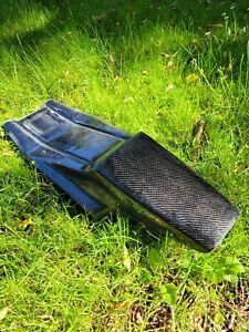 FLAT TRACK CARBON FIBRE SEAT UNIT , STREET TRACKER , XR 750 SPORTSTER BONNIE