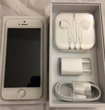 Apple iPhone 5s - 32GB Silver (Factory Unlocked) AT&T T-Mobile MetroPCS Straight