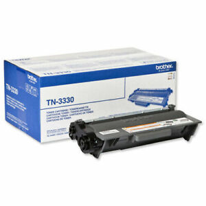 ⭐ Genuine Brother TN-3330 Black Toner Cartridge - No Box ⭐