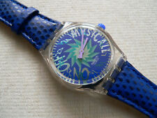 1993 Swatch Watch  Musical Tone In Blue SLK100