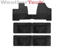 WeatherTech All-Weather Floor Mats - Toyota Sienna - 2004-2010 - Black