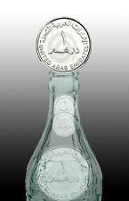 UAE DIRHAM [ARAB EMIRATES] Magic Folding Coin / magic coin in Bottle