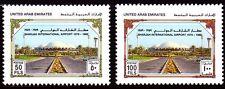 UAE 1989 ** mi.267/68 Aeroporto Airport Sharjah
