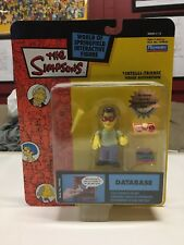 The Simpsons Action Figure Database S 12 World of Springfield Playmates 2003