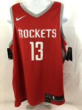 Nike Authentic James Harden Houston Rockets Xl Dri-Fit Basketball Jersey #2 of 2