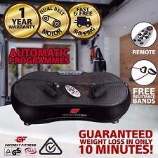 1500W CONNECT FITNESS Vibration Machine Platform Plate Trainer Body Massager