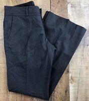 "Banana Republic Ryan Fit Dark Gray, Lined Women's Pants Size 4S 30x30"""