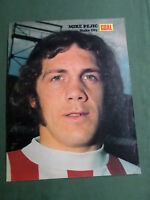 MIKE PEJIC - STOKE CITY PLAYER-1 PAGE MAGAZINE PICTURE- CLIPPING/CUTTING