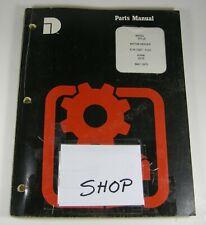 DRESSER 503 Motor Grader Tractor Parts Manual Book Catalog S/N 1667 - 5101 OEM