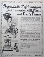 1928 AD(XA16)~THE CREAMERY PACKAGE MFG. CO. CHICAGO. REFRIGERATION FOR THE FARM