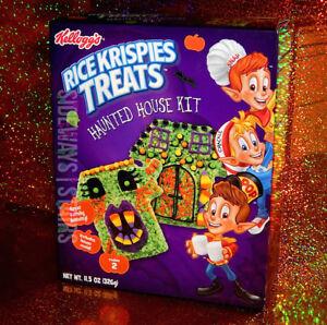 RICE KRISPIES TREATS HAUNTED HOUSE KIT W/ MOLD Halloween treat monster xmas NEW